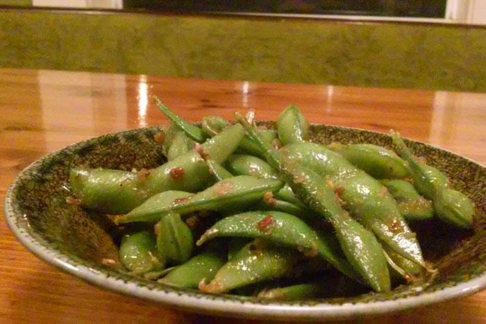 Edamame Peperoncino (Salty & Spicy Garlic Sauce)